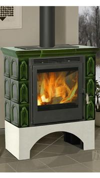 Купить Кафельная печь Fireplace Lili