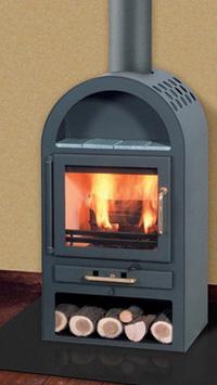 Купить Пристенная стальная печь Capri фирмы Fireplace