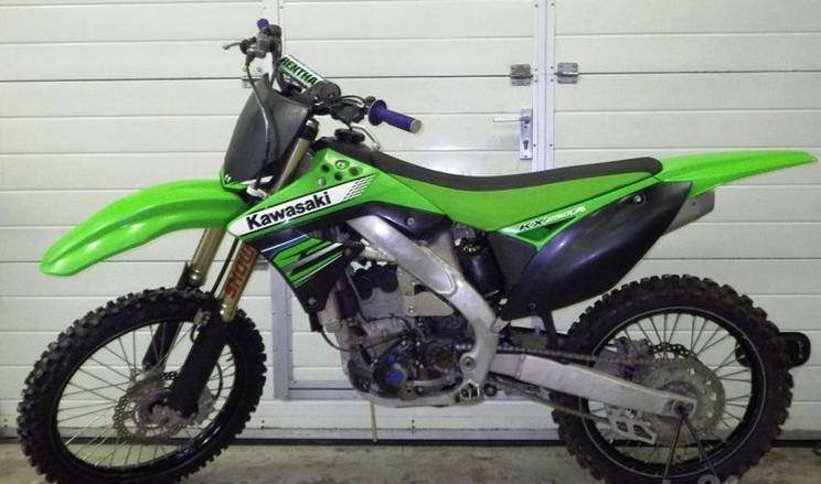 Купить Мотоцикл Kawasaki KX250F