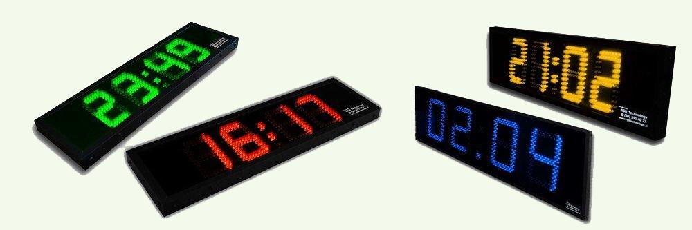 Купить Часы светодиодные