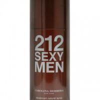 Купить Дезодоранты Carolina Herrera 212 Sexy Men Deo Spray