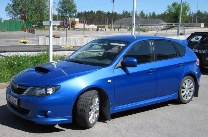 Купить Автомобиль Subaru Impreza WRX 2.5 169 kW 2008