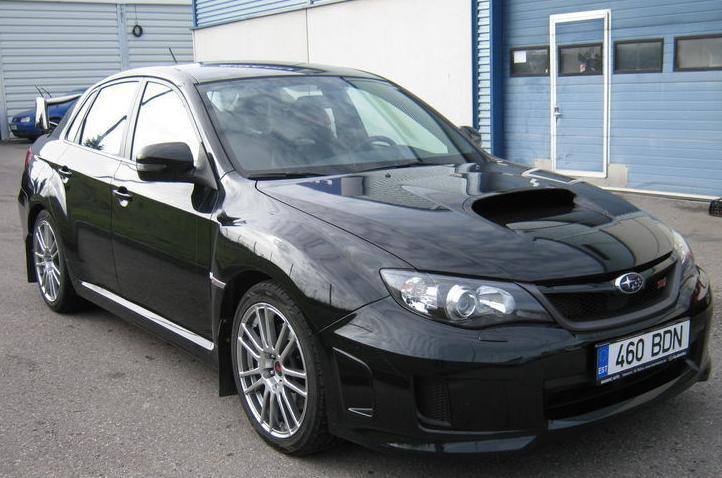Купить Автомобиль Subaru Impreza WRX STI 2.5 221 kW 2011