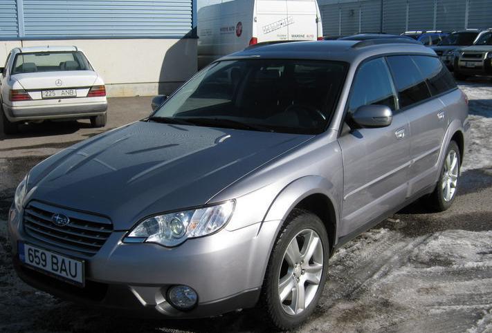 Купить Автомобиль Subaru Outback 2.5 127 kW 2008