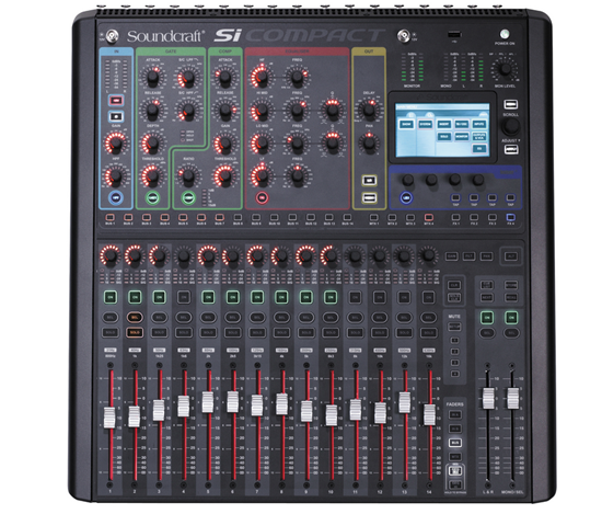 Купить Soundcraft Si C16 mikserpult