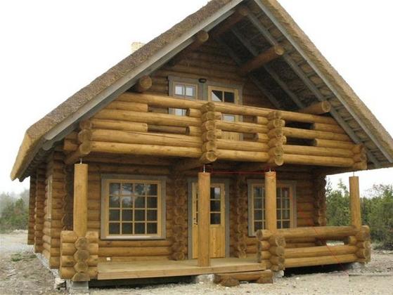 Купить Дома из круглых бревен