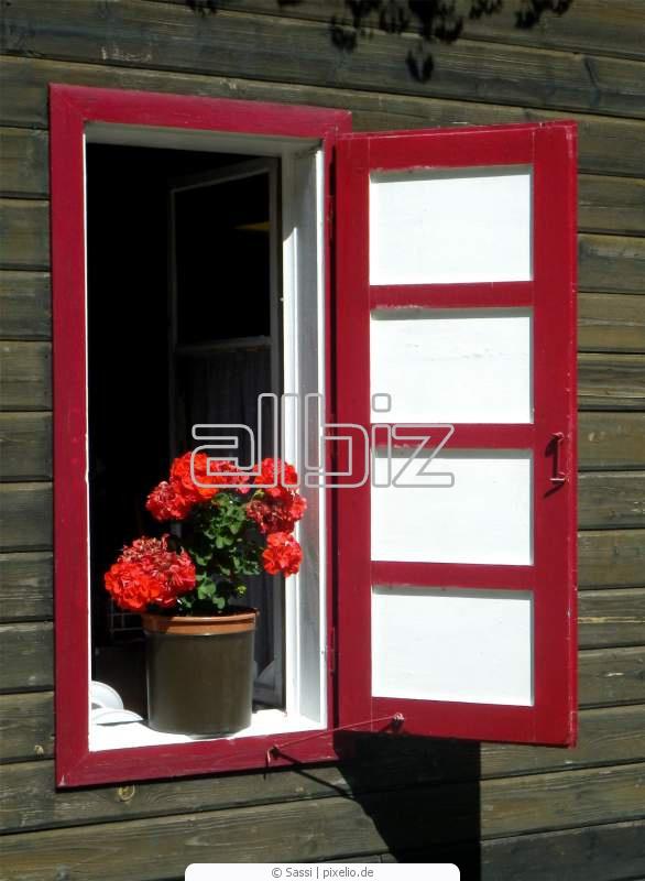 Купить Однорамные деревянные и алюминиево-деревянные окна