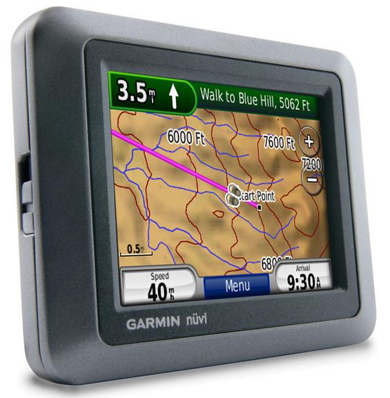Купить Автомобильный навигатор Garmin Nuvi 550