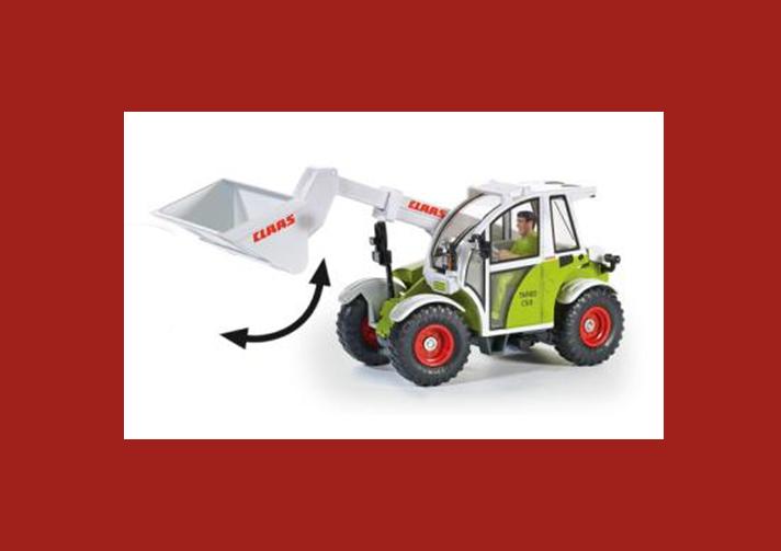 Купить Игрушка Роторный трактор Claas Таrgo