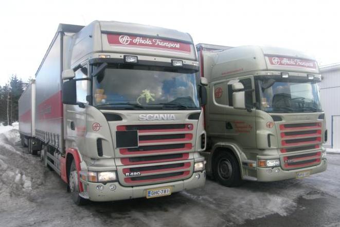 Купить Тягач Scania R420 6X2