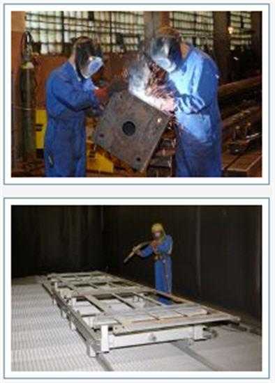 Купить Металлоконструкции двускатных ангаров и производственных зданий