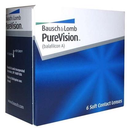 Купить PureVision Bausch&Lomb. Линзы с закруглённым краем