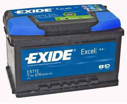 Купить Аккумулятор Exide Excell EB712