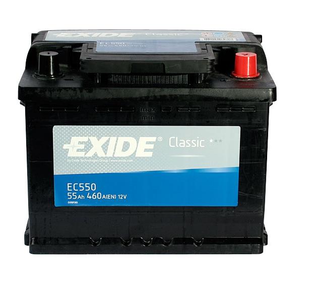 Купить Аккумулятор Exide Classic EC550