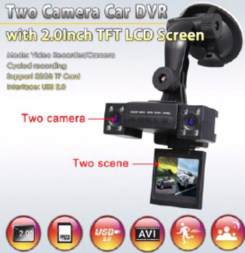 Купить Видеорегистратор Dual-camera car dvr