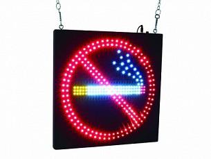 Купить Вывеска LED NO SMOKING