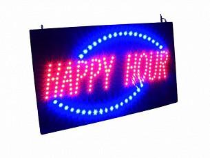 Купить Вывеска LED HAPPY HOUR