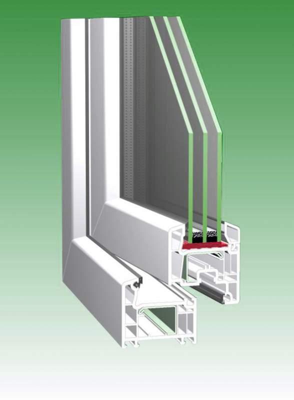 Купить Окна металлопластиковые из профиля Rehau Euro-Design