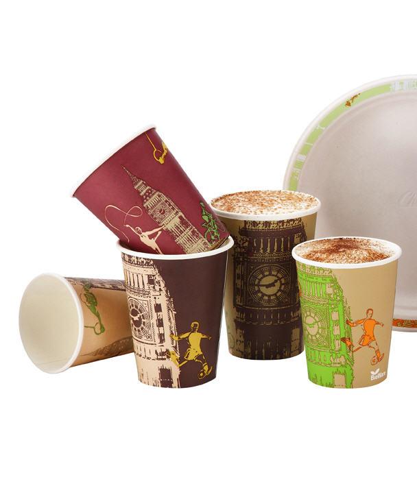 Купить Пищевая упаковка из жесткой бумаги Huhtamaki
