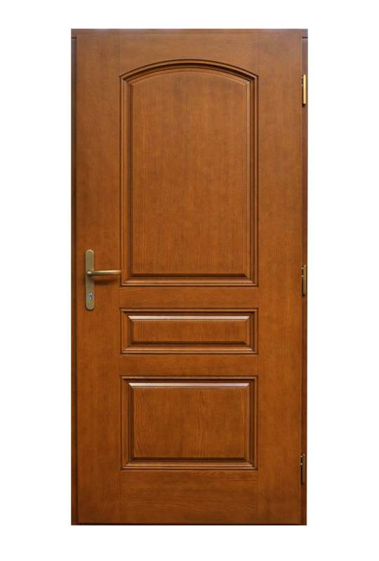 Купить Двери входные деревянные