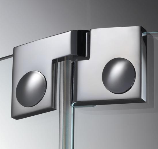 Купить Дверная петля для душевых кабин Plan artist 135° упор DIN слева