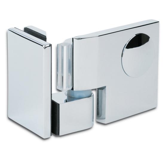 Купить Дверная петля для душевых кабин Plan artist 90° упор DIN слева