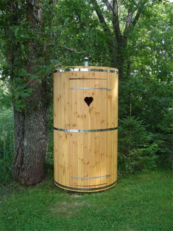 Купить Кабины туалетные деревянные