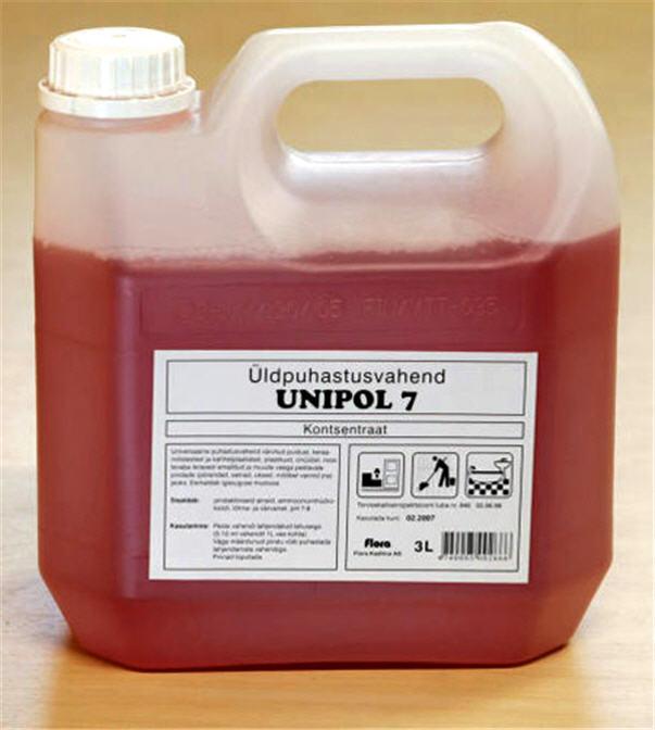 Купить Жидкое моющее средство для мытья поверхностей UNIPOL 7