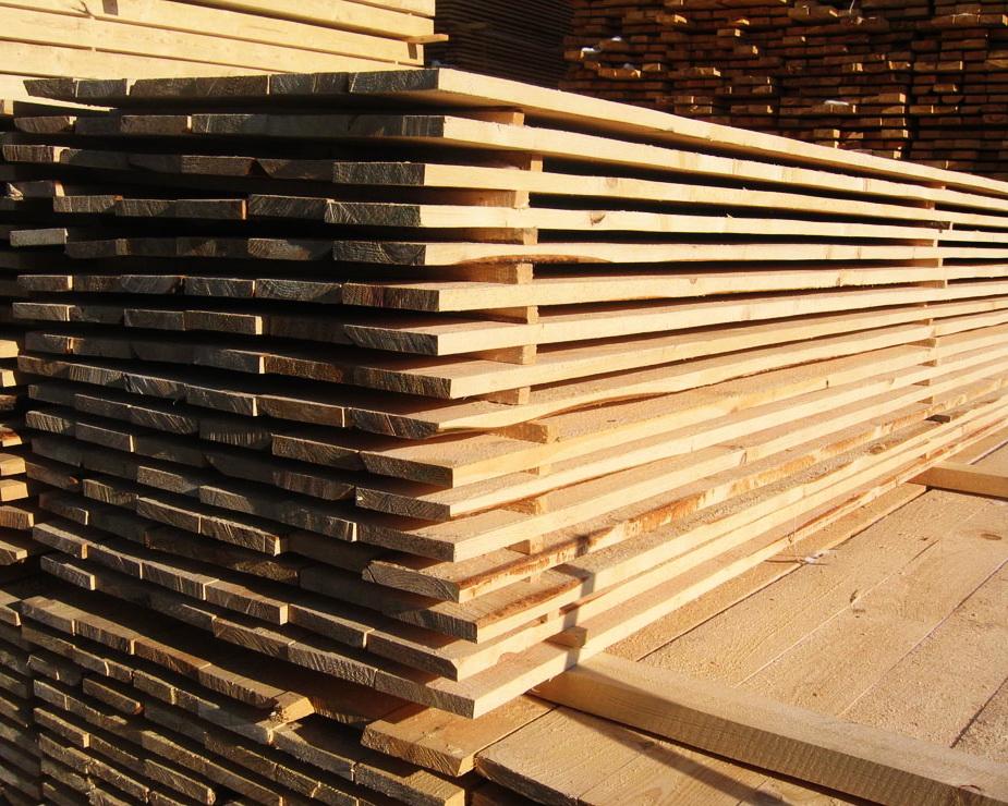 Купить Пиломатериалы для строительства в основном из лесов России, Эстонии и Латвии