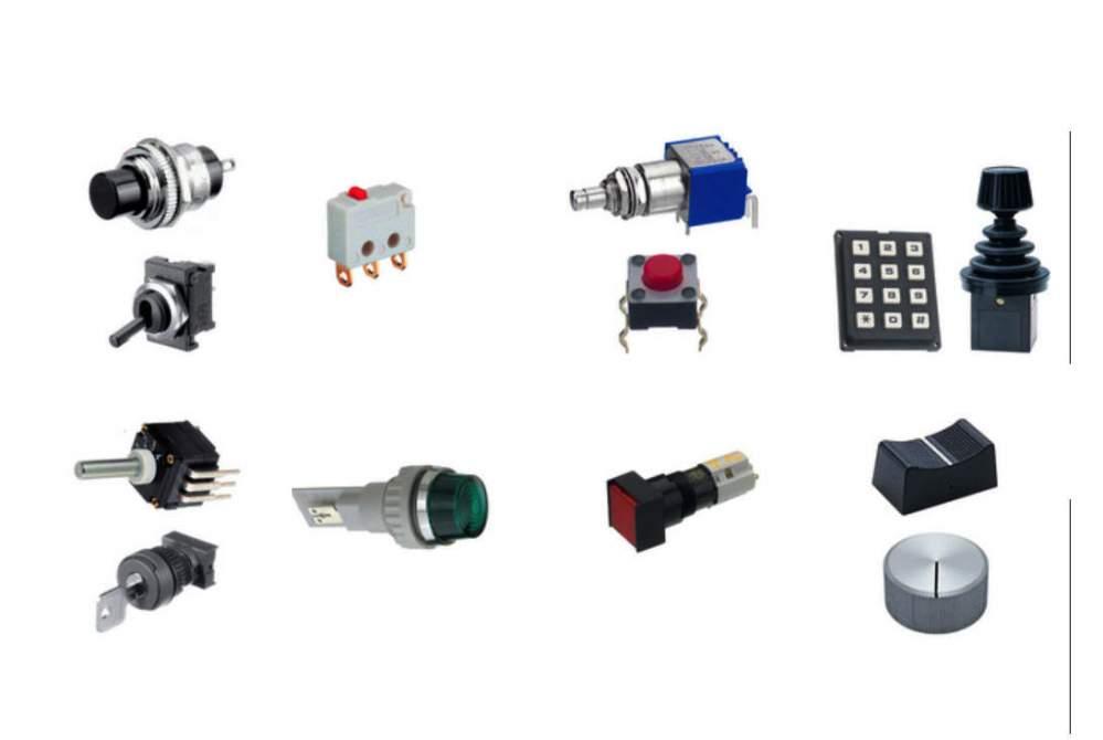 Купить Выключатели, переключатели, кнопки ELFA