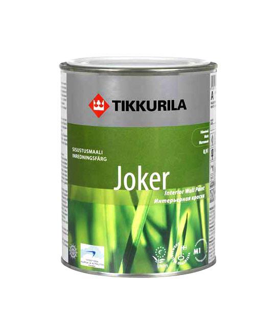 Купить Интерьерная краска для стен и потолков Tikkurila Joker
