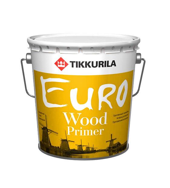 Купить Грунтовочный антисептик Тиккурила Евро Вуд Праймер