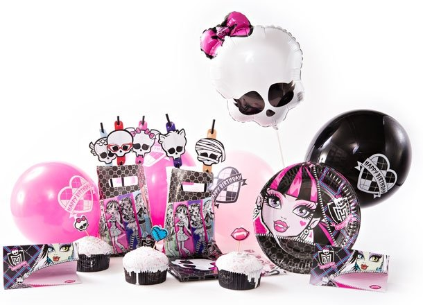 Шарики воздушные Monster High, Hello Kitty, Angry Birds