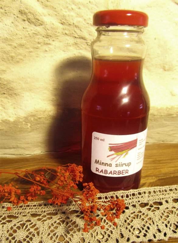 Купить Натуральные сиропы из аронии, ревеня, яблок