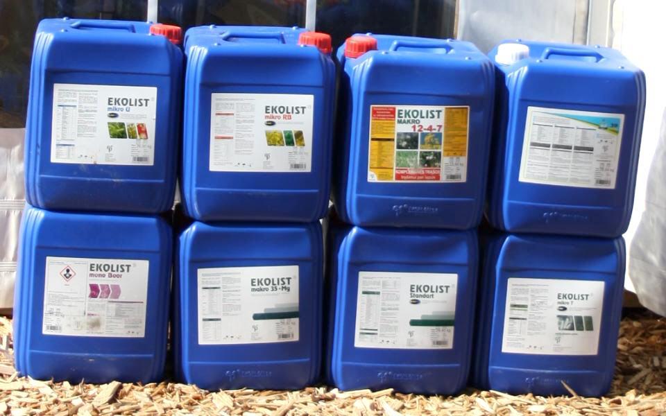 Купить Жидкие минеральные удобрения Эколист