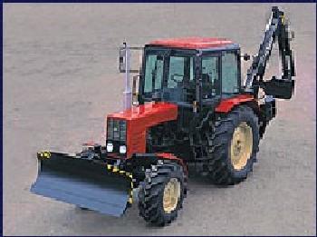 Купить Навесной одноковшовый экскаватор KRABI-3409 для тракторов МТЗ