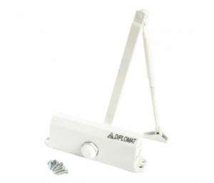 Купить IPM DIPLOMAT 605 дверной доводчик, белый цвет