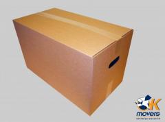 Коробка картонная трехслойная