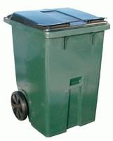 Контейнер пластиковый для мусора