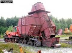 Loaders for peat