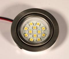 Мебельная подсветка 2,5W 12SMD 5050 LED теплый белый
