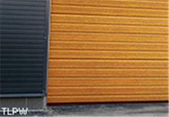 Промышленные ворота с имитацией древесины - TLPW