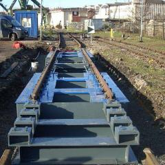 Железнодорожные весы, модификации Mars K400:
