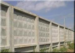 Панель ограды тип