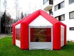 Классическая надувная палатка