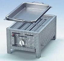 Гастрогриль 1 с решеткой и стальной сковородой
