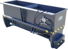 Пескоразбрасыватель SAMI ST-2000 (загружаемый сверху)