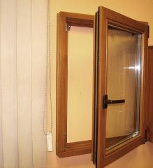 Окна деревянные поворотно-откидные