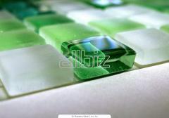 Мозаика стеклянная для стен и пола
