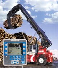 Весы для стреловых погрузчиках и для измерения объемов древесины